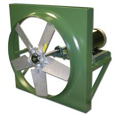reversible wall exhaust fans canarm hva series belt drive wall fans