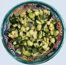 recette de cuisine libanaise avec photo salade de courgettes à la libanaise l atelier des couleurs