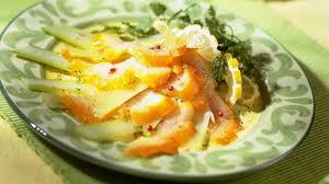 cuisiner haddock recette salade de fenouil et de haddock recette entrée recette