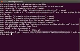 gpg keyserver proxy key word 2017