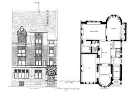 architectural floor plans and elevations 270 beacon back bay houses