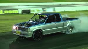 Ford Corier Skdhaw V8 Ford Courier Ute Burnout Sydney Dragway 22 1 2014 Youtube