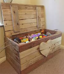 How Do You Make A Wooden Toy Box by Home Dzine Home Diy Toy Box Made From Pallet Wood Diy On Home