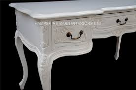 chateau french style white table can be used as desk console or