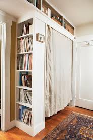 How To Build A Closet In A Room With No Closet Small Space No Closet Apartment Therapy