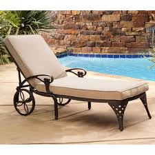 Chaise Lounge Outdoor Furniture Home Styles Biscayne Outdoor Chaise Lounge Chair Walmart Com