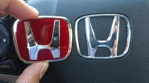 honda logo honda car symbol steering wheel emblems