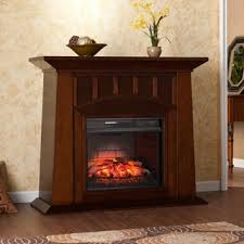 Infrared Electric Fireplace Harper Blvd Bayard Espresso Electric Fireplace Free Shipping