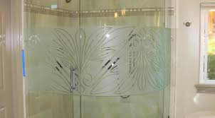custom etched glass doors thrilling etched glass shower door decals tags etched glass