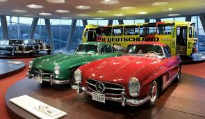 classic red mercedes legend 4 mercedes benz 300 sl 1955 coupé and 1960 roadster