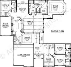 2000 Square Foot Ranch House Plans 100 Luxury Ranch Floor Plans Southern Style Homes Interior