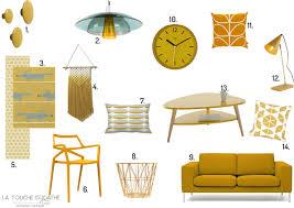 Canape Jaune Moutarde by Blog La Touche D U0027agathe List Shopping Couleur Jaune Moutarde