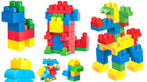 learn colors for children with building blocks educational