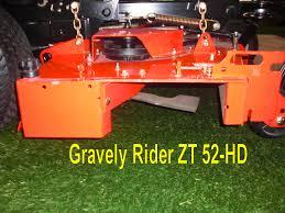 mower deck openings