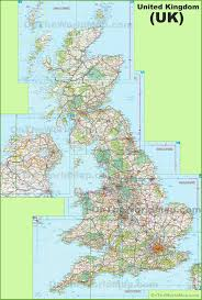 Map Of Britain Uk Maps Maps Of United Kingdom Of Great Britain And Northern