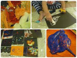fireworks craft ideas in the playroom