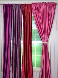 63 inch 96 inch whitney pink red and purple blackout grommet