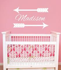 online get cheap name wall decals for girls room aliexpress com custom name wall decal arrow personalized name wall stickers for kids rooms girls boys nursery bedroom