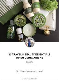 10 Must Travel Essentials For by 10 Essentials For The Airbnb Traveler Essentials