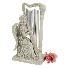 Angel Sculptures Amazon Com Design Toscano Music From Heaven Angel Statue With