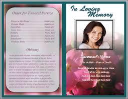 doc 549424 download funeral program template u2013 free funeral