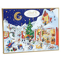 lindt assorted chocolate advent calendar