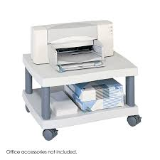 wave under desk printer stand safco products