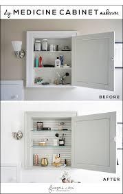 can you paint a metal medicine cabinet diy medicine cabinet makeover francois et moi
