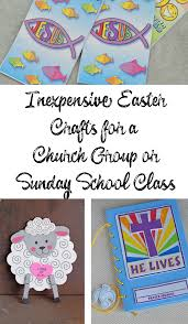 inexpensive easter crafts for a church group or sunday class