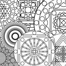 abstract coloring pages to print to motivate in coloring page