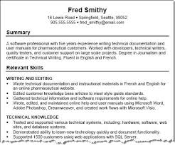 technical skills resume technical skills exles sufficient capture professional