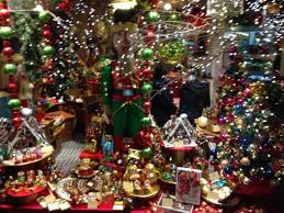 magical christmas window display chocolate wonderland picture