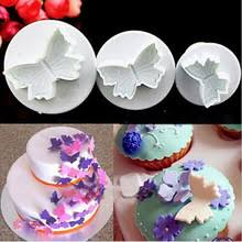 Christmas Cake Decorations Sugarcraft by Popular Sugarcraft Butterfly Cutters Buy Cheap Sugarcraft