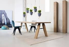 kitchen table online contemporary dining table wooden rectangular branch by marc
