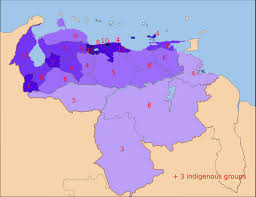 Venezuela Map Venezuela Europa Venezuela U0027s Density And Dense Politics