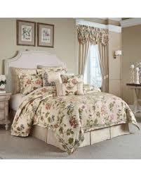 Queen Comforter Sets On Sale Black Friday Special Croscill Daphne Queen Comforter Set In Ivory