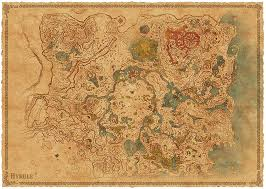 Map Of Hyrule Amazon Com The Legend Of Zelda Breath Of The Wild Explorer U0027s