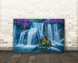 waterfall home decor waterfall 23 canvas art 44 99 canvas prints home decor