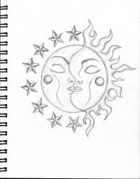 cartoon moon drawings 1000 images about sun moon stars on