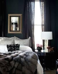 Black Curtains For Bedroom Comment Bien Décorer Une Chambre Avec Des Couleurs Sombres Black