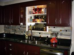 Wood Backsplash Kitchen Kitchen Bring Your Kitchen To Be Personality Expression With