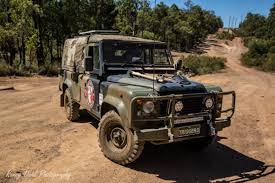 land rover modified army land rover defender 110 on a mission to spread awareness for