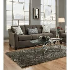 Charcoal Sofa Bed Simmons Flannel Charcoal Sofa Wayfair