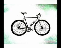 bike sketch blue road riding cycling bicycle bicycling modern