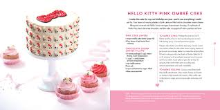Baking And Cake Decorating The Hello Kitty Baking Book Recipes For Cookies Cupcakes And