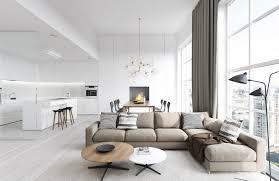 livingroom white modern living room black and design designs