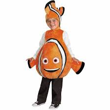 Boys Halloween Costume Nemo Deluxe Child Halloween Costume Walmart