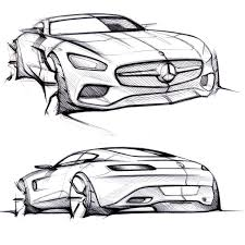 auto design mercedes amg gt design sketches cars mercedes