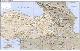 Map Turkey Download Map Of Iran And Turkey Major Tourist Attractions Maps