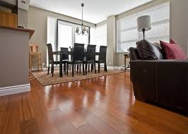 area rugs and cherry hardwood floor
